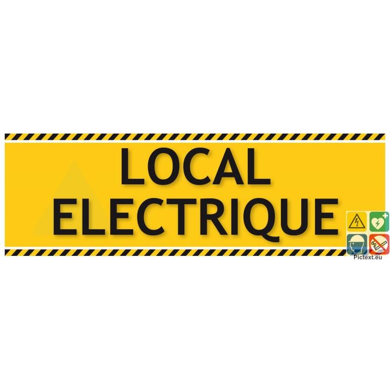 Signal tique de localisation pour localiser le local for Local electrique