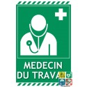 Panneau médecin du travail