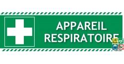 Panneau premier secours appareil respiratoire