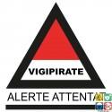 Panneau alerte attentat Vigipirate