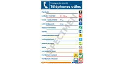 Consigne de sécurité téléphones utiles