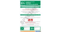 Consigne de sécurité espaces d'attente sécurisés