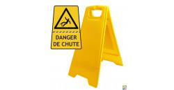 Chevalet de signalisation danger de chute