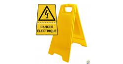 Chevalet de signalisation danger électrique