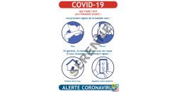 Consigne COVID-19 aux premiers signes que faire ?