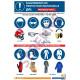 Panneau formation Equipements de Protection Individuelle, protégez-vous…