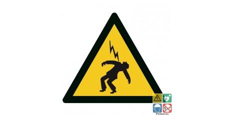 Panneau danger électrocution