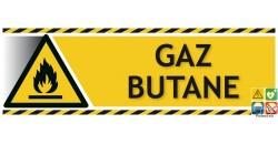 Panneau gaz butane picto-texto paysage