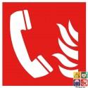 Picto téléphone incendie