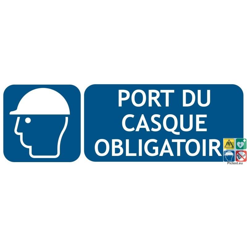 Port du casque obligatoire - 1 6