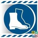 Picto chaussures de sécurité obligatoires