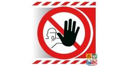 Picto accès interdit aux personnes non autorisées