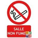 Panneau salle non fumeur