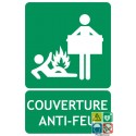 Panneau couverture anti-feu