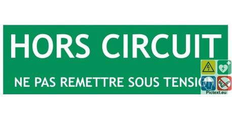 Panneau recto verso En circuit Hors circuit