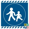 Picto passage obligatoire pour enfants