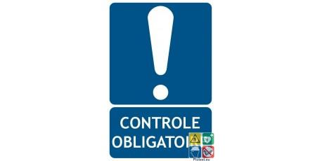 Panneau contrôle obligatoire
