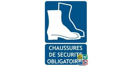 Chaussures De De Obligatoire Panneau Chaussures Sécurité Panneau nZ80wkOXNP