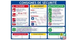 Consignes de sécurité A3