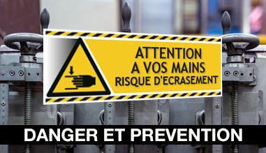Signalétique d'avertissement picto norme ISO7010